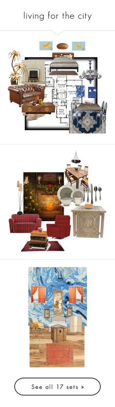 living for the city by sara-whalen on Polyvore featuring polyvore interior interiors interior design home home decor interior decorating ADAM Arden Loft Saint-Louis Crystal West Elm Armen Living UGG Australia John-Richard Kettal Graypants Sure Fit DutchCrafters Sango Mepra Bunn Home Decorators Collection The French Bee Ballard Designs Cost Plus World Market Benzara Seletti Potting Shed Creations John Lewis HolidayParty deckthehalls Pigeon & Poodle Cultural Intrigue Gubi Green Leaf Art Kate…