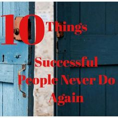 10 Things Successful People Never Do Again We all make mistakes but the people who thrive from their mistake are the successful ones. http://www.success.com/article/10-things-successful-people-never-do-again   ****************************************** www.2mjMotorBikeRental.com  SMART +63-09184-777-748  GLOBE +63-0917-801-9617  #motorcyclerentalangelescity #carrentalangelescity #vanrentalangelescity #pickupairport #dropoffairport #naia #clark #angelescity #2mj #angelescityscooterrental…