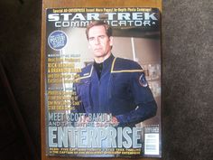 Star Trek Communicator Magazine Special Enterprise Edition #135 2001  Visit ivanhoe.ecrater.com. the ebay alternative for great deals in books & sheet music.  Shop Ecrater. Lowest Prices on books!