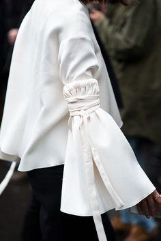 Paris Fashion Week Streetstyle by The Petticoat -Nicole Warne Gary Pepper Girl before Stella McCartney Paris PFW