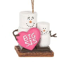 S'mores Original Big Sis Smores ornament.