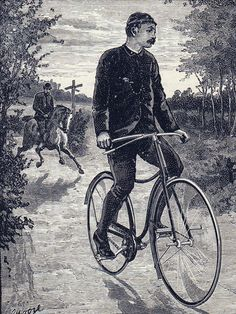 "StarleyRoverSafety1889 _ John Kemp Starley, creator of the bicycle that ""set the fashion to the world"""