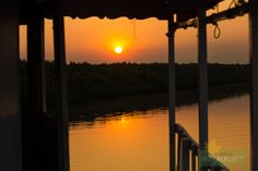 Sunset Sunderban Photo Credit: Nilanjan Patra