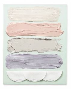 pastel painted color palette / pink and grey / paint swatches Colour Schemes, Color Combos, Colour Palettes, Pastel Colors, Paint Colors, Pastel Palette, Pastel Shades, Soft Colors, Pastel Pink