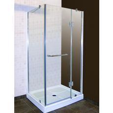 Jade Bath - California 32 Inch Shower Door with Return Panel - - Home Depot Canada One Piece Shower Stall, Corner Shower Stalls, Home Depot, Lighthouse Bathroom, Shower Sliding Glass Door, Neo Angle Shower, Shower Units, Canada, Shower Enclosure