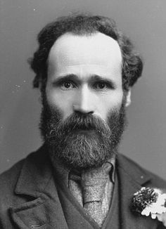 Keir Hardie First Leader of British Labour Party Famous Historical Figures, Old Photography, Labour Party, Photographs Of People, Bearded Men, Vintage Men, Candid, Famous People, 19th Century