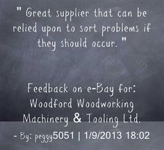 Customer Feedback on eBay.  Great supplier that can be relied upon to sort problems if they should occur.  peggy5051.