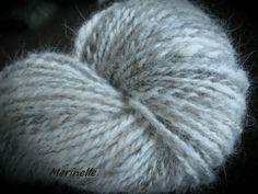 Custom Dog Hair Spinning  / Käsinkehrätty koirankarvalanka by Merinelle on Etsy