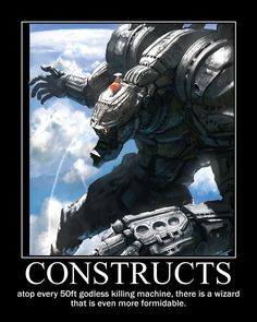 Constructs #dnd