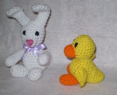 Springtime Friends- Amigurumi Crochet  Pattern