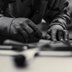 Hands not machines. Leather Craft, Workshop, Rings For Men, Hands, Handmade, Instagram, Leather Crafts, Atelier, Men Rings