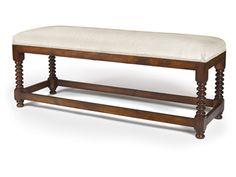 Shop for MacRae MacBain Bench, 201-L, and other Benches at Lee Jofa New in New York, NY. Shown in cherry.