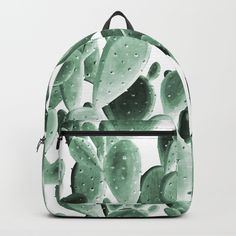 Cactus Backpack, Cute Mini Backpacks, Bag Pins, Types Of Bag, Bag Organization, New Bag, School Backpacks, School Bags, Mini Bag