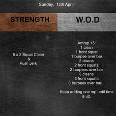 Instagram-inlägg från CrossFit Sand Warriors WOD • 15 Apr 2018 kl. 6:13 UTC