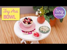 YouTube Tiny Cooking, Acai Bowl, Panna Cotta, Pudding, Ethnic Recipes, Kitchen, Youtube, Desserts, Food