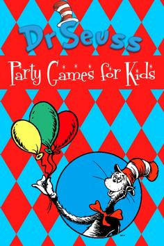 Let's Get Silly with Dr Suess Party Games for Kids!: You'll be the talk of the playground by the time your party is over with our Dr Seuss party games for kids! Dr Seuss is one of the most popular children's book writers of all time for a good reason: kids totally relate to his silliness! When you're planning a Seuss party, you need to make sure you incorporate that sense of whimsy into the games. After all, being silly is in a child's nature! Check out our favorite Dr. Seuss party games for…