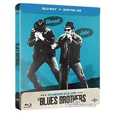 The Blues Brothers - Zavvi Exclusive Limited Edition Steelbook (Blu-ray + UV Copy) (UK Import ohne dt. Ton) Blu-ray