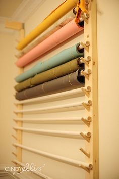 Storing seamless paper backdrop holder 3 (by Cindy Ellis Photography)