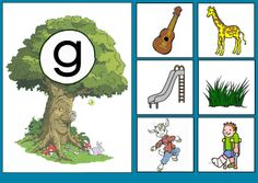 * Sprookjesboom: Letterkaart G