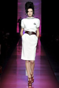 Jean Paul Gaultier Spring 2012 Couture Fashion Show - Maria Kashleva