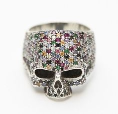 To know more about JAM HOME MADE Skull Ring, visit Sumally, a social network that gathers together all the wanted things in the world! Featuring over 586 other JAM HOME MADE items too! Bone Jewelry, Skull Jewelry, Beaded Jewelry, Skull Rings, Jewellery, Handmade Rings, Handmade Jewelry, Crane, Skull Wedding Ring