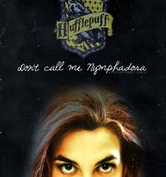 Don't call me Nymphadora! ~ Harry Potter and the Order of the Phoenix. I just found out that Tonks is from Hufflepuff! Draco, Tonks Harry Potter, Harry Potter Books, Harry Potter Love, Harry Potter Universal, Harry Potter World, Harry Potter Hogwarts, Lord Voldemort, Tonks And Lupin