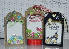 Personalized Shaker Tags - with video tutorial!