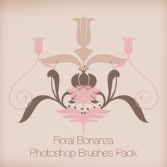 Floral Bonanza Photoshop Brushes Pack - Graphics-Illustrations.Com Photoshop brushes with commercial use.  http://graphics-illustrations.com/product/photoshop-brushes/floral-bonanza-photoshop-brushes-pack/