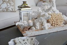 Pottery Barn - Create a coastal vignette in just a few easy…