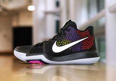 Nike Kyrie 3 PE Black Red Purple Yellow | SneakerNews.com