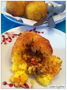 Arancini, boulettes de riz farcies siciliennes
