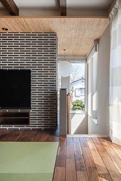 独立型の二世帯住宅に用意した、集いを楽しむLDKとこだわりのプライベート空間