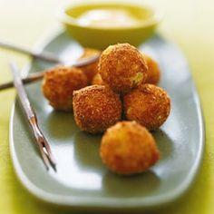 Potato Croquetas with Saffron Alioli