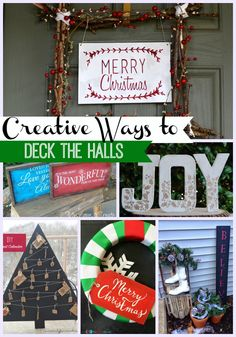 Inspiring Ideas: Creative Ways to Deck the Halls - The Girl Creative