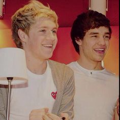 Niall and Liam.