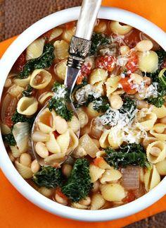 Pasta Fagioli #soup recipe