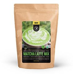 Jade Leaf - Organic Japanese Matcha Latte Mix - Make Delicious Matcha Green Tea Powder Lattes at Home Bulk Size) *** More info could be found at the image url. (This is an affiliate link and I receive a commission for the sales) Japanese Green Tea Matcha, Matcha Green Tea Latte, Matcha Green Tea Powder, Matcha Tea Benefits, Green Tea Benefits, Organic Matcha, Organic Green Tea, Matcha Cafe, Matcha Latte Recipe