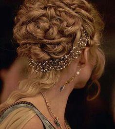 Beautiful hair style...