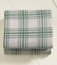 Amazon.com - Pinzon Lightweight Cotton Flannel Sheet Set - Queen ...