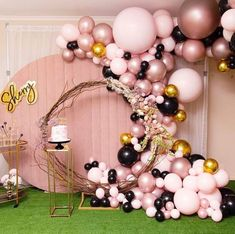 35 Trendy Balloon Ideas For Party These trendy Home Decor ideas would gain you amazing compliments. Check out our gallery for more ideas these are trendy this year. Balloon Decorations Party, Birthday Party Decorations, Baby Shower Decorations, Decoration Party, Balloon Arch, Balloon Garland, Balloon Ideas, Birthday Balloons, 30th Balloons