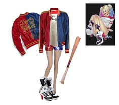 """""""Harley Quinn- S.uicide Squad"""" by j-j-fandoms ❤ liked on Polyvore featuring La Perla and SuicideSquad"""