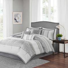 Madison Park Bennett 7-Piece Comforter Set - Bed Bath & Beyond