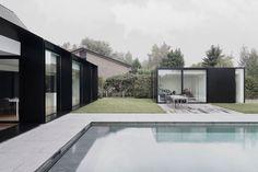 Architecture / Extension contemporaine / Maison House DS en Belgique par Graux & Baeyens architecten / Yooko: Design, décoration & architect...
