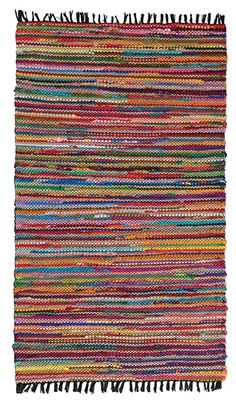Colourful Yarn Caution Loom A Tic Weaving