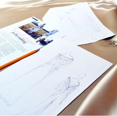 See every detail of your dream dress sketched in front of you. Dress Sketches, Prom Dresses, Wedding Dresses, Dream Dress, Mother Of The Bride, Weddingideas, Bespoke, My Design, Dresser