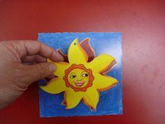 Sternförmiger Anhänger als Postkarte mit Laserstanzug