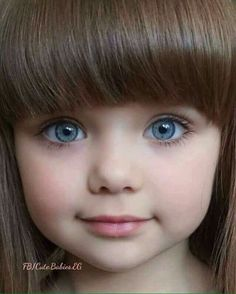 "Meet Gorgeous Anastasiya Knayazeva Also Known As ""World's Most Beautiful Kid"" - Slydor - Your Daily Dose Of Fun. Beautiful Little Girls, Cute Little Girls, Beautiful Children, Beautiful Babies, Cute Kids, So Cute Baby, Baby Kind, Cute Babies, Pretty Eyes"