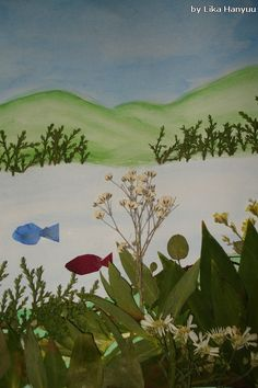 Lika Hanyuu - Oshibana - Flores Secas: Aquarela