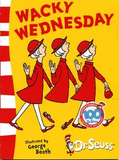 Dr. Seuss's Wacky Wednesday – Funny book where children have to discover what is wrong with the pictures
