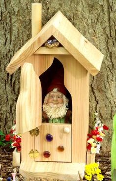 DIY Garden Gnome Home.